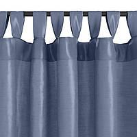 Фіранка LUPIN 1х140x245 шт.шовк т.синій