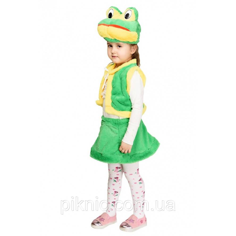 Костюм Лягушки 3,4,5,6 лет Детский новогодний карнавальный костюм Жабки для девочки