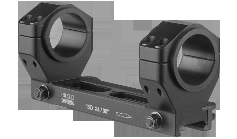 Крепление для оптики FAB , 30-34 мм, алюминий, для Picatinny