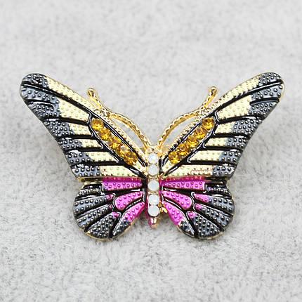 """Брошь в виде бабочки """"Yahim Pink"""", фото 2"""