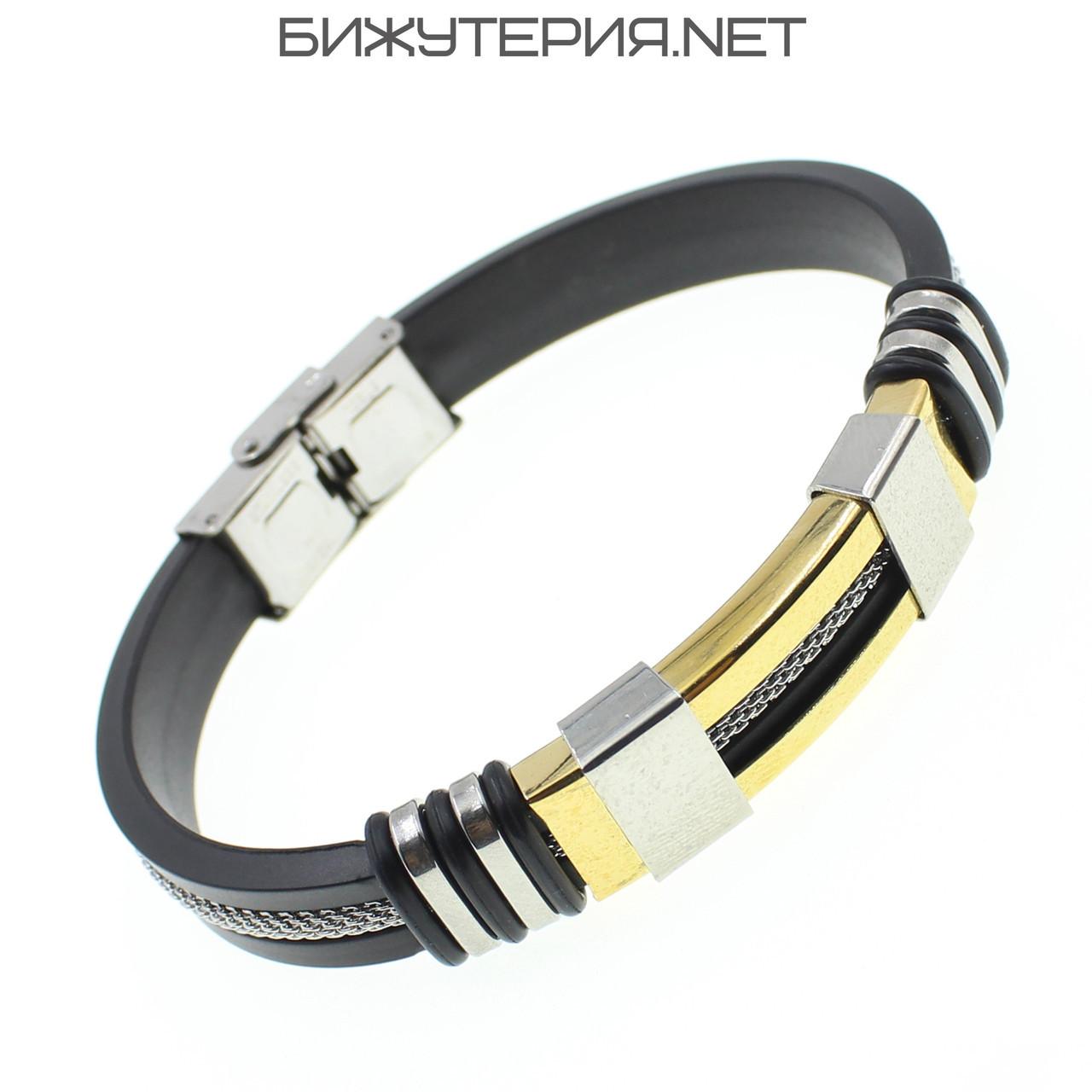 Мужской браслет Stainless Steel - 1038326914