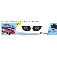 Фары Toyota Yaris Hatchback 2006-08/TY-170А-W