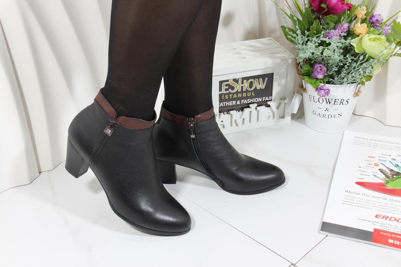 Ботинки на среднем каблуке Sanborina 0431