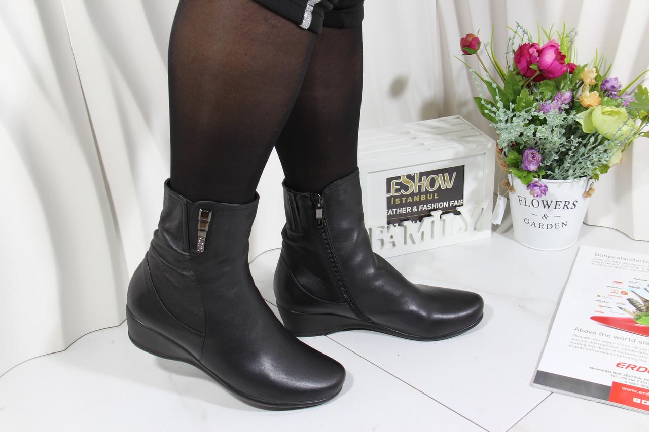 Черные ботинки Battine B653