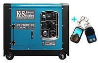 Бензиновый генератор Konner&Sohnen KS 7500E-SS