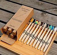 Бамбуковая зубная щётка ЭКО
