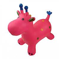 Детский прыгун Metr+ BT-RJ-0054 Жираф Розовый