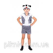 Костюм Барсука для детей 3,4,5,6 лет. Детский новогодний карнавальный костюм 342, фото 2