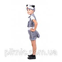 Костюм Барсука для детей 3,4,5,6 лет. Детский новогодний карнавальный костюм 342, фото 3