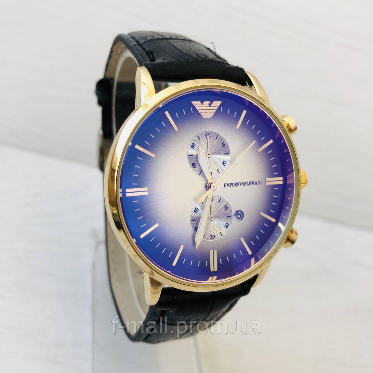 Мужские кварцевые  часы  Emporio Armani (реплика)