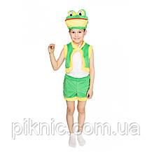 Дитячий карнавальний костюм Жабеня для дітей 3,4,5,6 років Костюм Жабка, фото 2