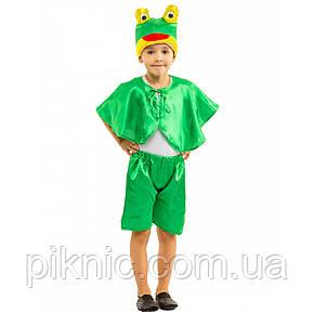 Костюм Лягушонок 4,5,6,7 лет Детский новогодний карнавальный костюм Лягушка, Жабка для мальчика 342, фото 2