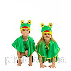 Костюм Лягушонок 4,5,6,7 лет Детский новогодний карнавальный костюм Лягушка, Жабка для мальчика 342, фото 3