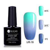 Термо гель-лак для ногтей маникюра термолак 7.5мл UR Sugar, UR-18