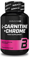 Жиросжигатель BioTech Usa For Her L-Carnitine + Chrome 60 caps