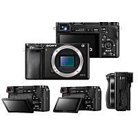 Цифровая фотокамера Sony Alpha a6500 Body, 24.2 Мп, Зум: 8х (цифровой), поддержка карт памяти MS PRO Duo,MS PRO-HG Duo,MS XC-HG Duo,SD,SDHC,SDXC, накл