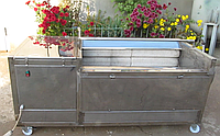 Машина для мойки и полировки овощей,оборудование для переработки овощей