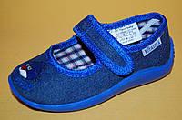Детские Тапочки Vitaliya Украина 001201 Для мальчиков Синий размеры 23_27, фото 1