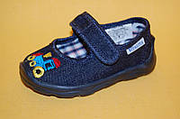 Детские Тапочки Vitaliya Украина 001100 Для мальчиков Синий размеры 19_23, фото 1