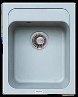 Кухонная гранитная мойка Platinum KORRADO 400*500 матовая, серый муссон