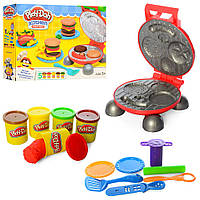 Набор для лепки Play-Doh MK2241 Бургер барбекю (Качественный аналог)