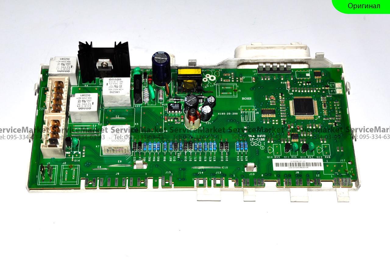 Модуль стиральной машины Indesit EVO 2 Индезит Плата управления Оригинал б/у