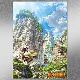 Плакат Аниме Dr. Stone 200, 003