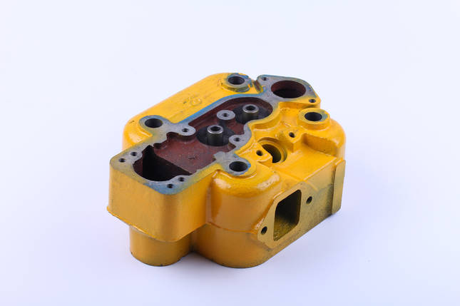 Головка блока цилиндра голая двигателя DLH1100, фото 2