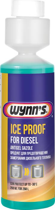 Присадка антигель Ice Proof wynn's для дизельного палива 250 мл