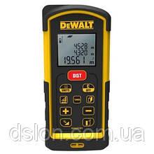 Дальномер лазерный DeWALT DW03101, до 100м, класс лазера 2, класс защиты IP65, кол-во лучей 1, рассчеты, пам