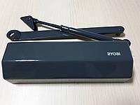 Доводчик дверной RYOBI D 1554 STD с ножницами антрацит