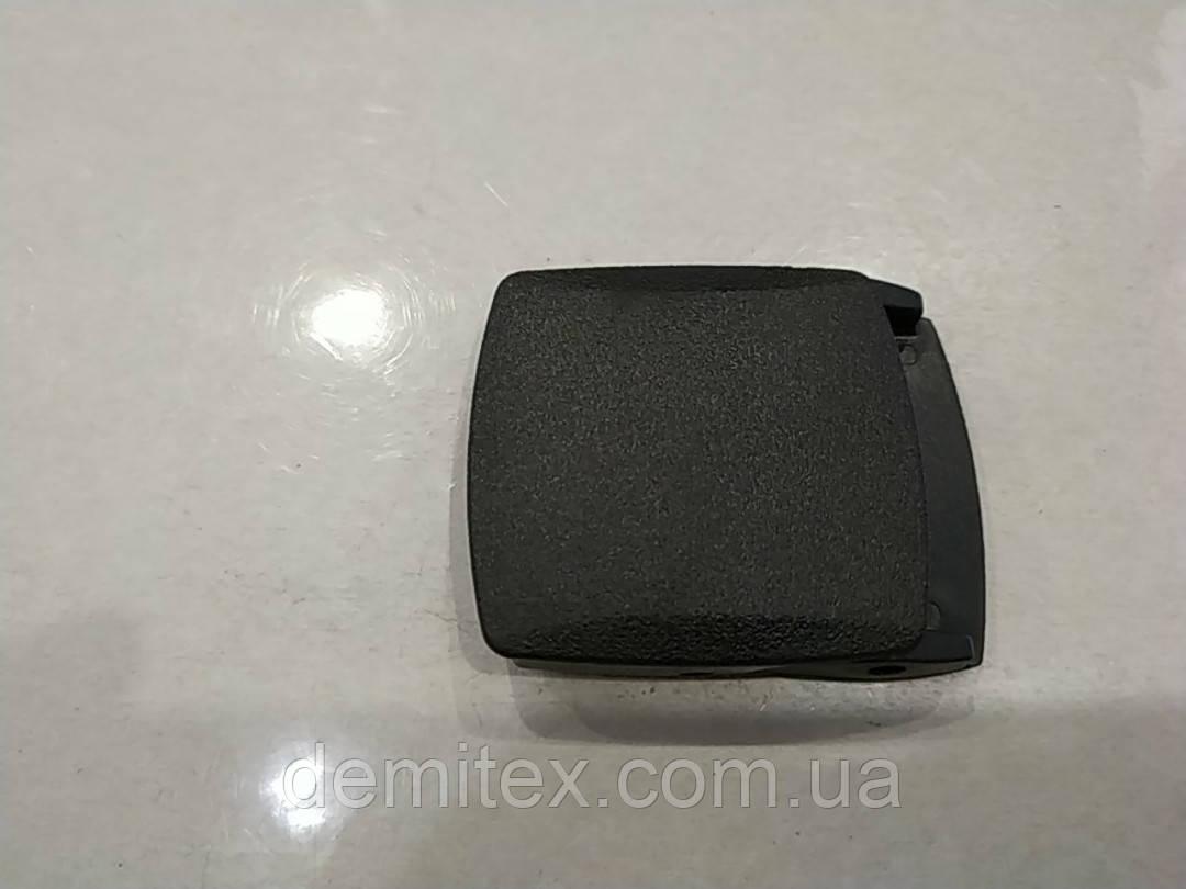 Ременная пряжка пластиковая 40 мм черная