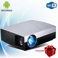 Проектор мультимедийный Android Wi-Fi улучшенная линза стерео звук Vivibright Wi-light F20 кинопроектор