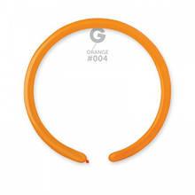 Латексні кульки для моделювання (ШДМ) оранжеві пастель 260-2/004 GEMAR