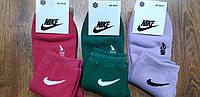 """Жіночі махрові шкарпетки в стилі""""Nike А"""",Туреччина 36-41, фото 1"""