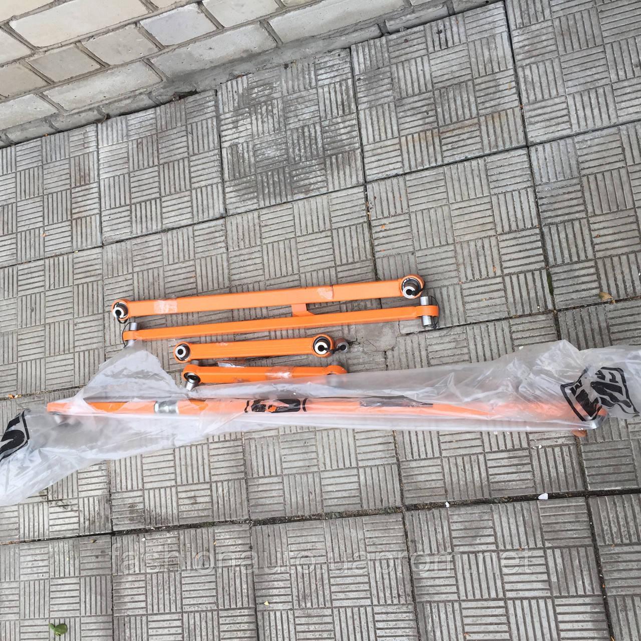 Комплект реактивных тяг GTS Drift  для   ВАЗ 2101-07  на ШС   с регулируемой поперечной тягой