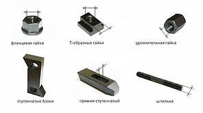 M12 Комплект прихватов (прижимов) станочных, фото 3