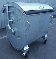 Оцинкований контейнер для сміття 1100 літрів