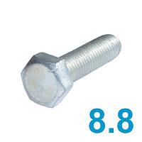 Болт метрический DIN933 класс прочности 8.8