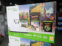 Игровая консоль MICROSOFT XBOX ONE S 1TB All-Digital Edition + Sea Of Thieves + Minecraft + + Forza Horizon 3