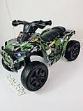 Детский электро квадроцикл M 4207 ELS камуфляж, кож сиденье, фото 5