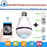 Камера Видео наблюдения Лампа 360
