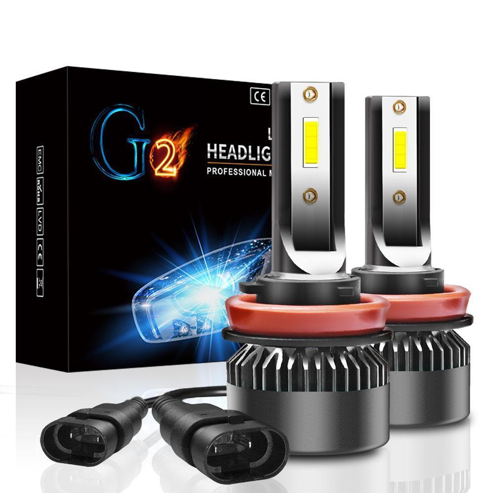 Лампа светодиодная для фар G2 MINI LED  H9 6000 Lum, цвет свечения 6000К, 2 шт/компл.