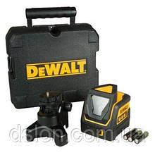 Лазер DeWALT DW0811,  кол-во лучей 2+1, класс лазера 1