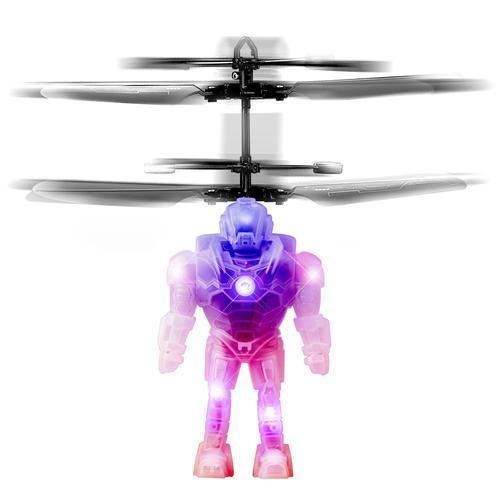 Светящийся Летающий дрон игрушка вертолет сенсорный Шар мяч робот