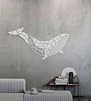 Настенный декор SayWow Puzzle Wall Art Whale (белый правый)