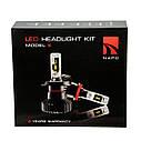 Лампа светодиодная NAPO Model X  H8 6000 Lum, цвет свечения белый, 2 шт/компл. Гарантия 2 года, фото 6
