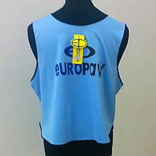 Манишка тренировочная  Europaw logo 3\4