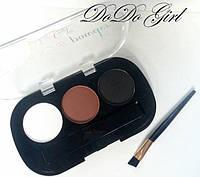 Тени для бровей EYEBROW Powder DoDo Girl Professional №2, фото 1