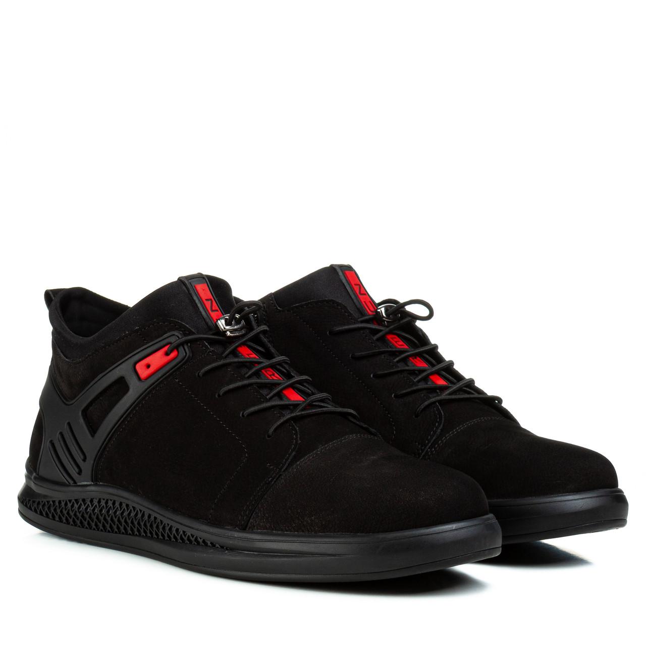 Ботинки мужские ZUMMER (стильные, натуральные, качественные, удобные)